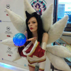 Ahri by Vearra