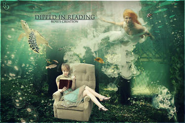 Dipped in reading by dreamswoman