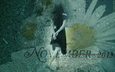 Wallpaper November 2013 by dreamswoman