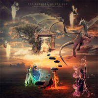 The border of the sun by dreamswoman