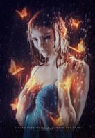 I hear your whisper through the rain by dreamswoman