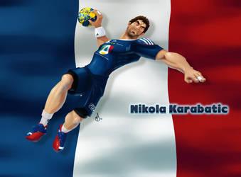 Nikola Karabatic by Schoyhan