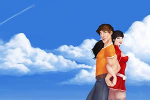 Duo in the sky by Schoyhan