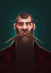 Portrait 03 - Big Beard by Schoyhan