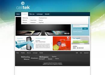 Celltek Website by kaan-arts