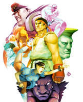Street Fighter Tribute by gammon