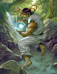 That Picture of Ryu. by gammon