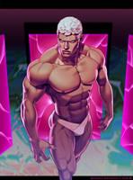 Urien (Street Fighter: World Warrior Encyclopedia) by gammon