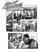 Street Fighter Mock by gammon