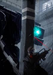 Metal Gear Solid: Hide and Seek by MaxFerrino