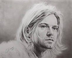 Kurt Cobain by sergejbag