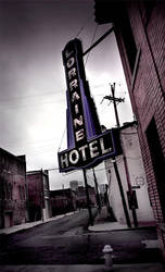 The Loraine Hotel by AnthonyPresley