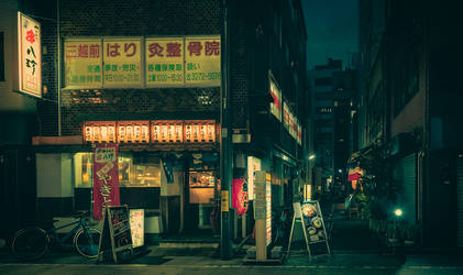 Night Stroll V by AnthonyPresley