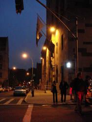 city street scene by Designdivala