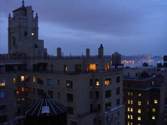 Moody Rooftop by Designdivala