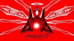 Evangelion Unit 01 wallpaper by Epsthian-Artist