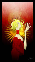 'Gaga in Light' by Epsthian-Artist
