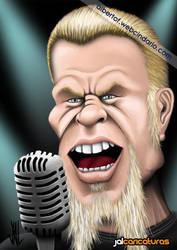 James Hetfield (Metallica) by Jalpal