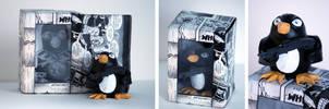 Penguins vs. Possums Custom Figure and Packaging by spulunk