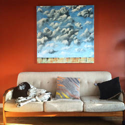 4'by 4' skyscape 2015 by snagletooth