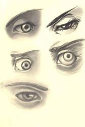 Eye Sketch by Kissakisan