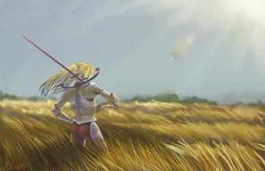 Amber Fields by Kissakisan