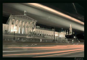 Vienna Parliament by Lizocain