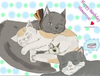 Nekotalia For Hima's Birthday by emsiecat