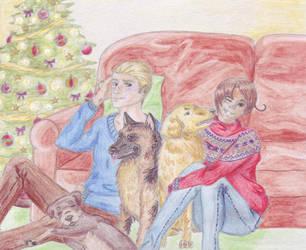 GerIta Christmas by emsiecat