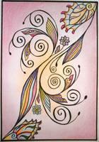 Zentangle 5 by HEYYEYEYEA