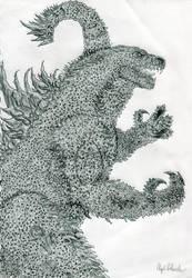 Legendary Pictures Godzilla by Kongzilla2010