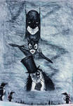26th Anniversary Tribute Drawing to Batman Returns by Kongzilla2010