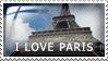 I Love Paris by Wearwolfaa
