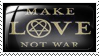 Make Love Not War by Wearwolfaa