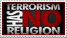 Terrorism Has No Religion by Wearwolfaa