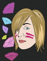 Self Portrait by Dotty1990