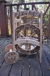 2014 Mehandi Spinning Wheel by parizadhe