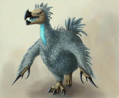 Mutated dodo by Ramul