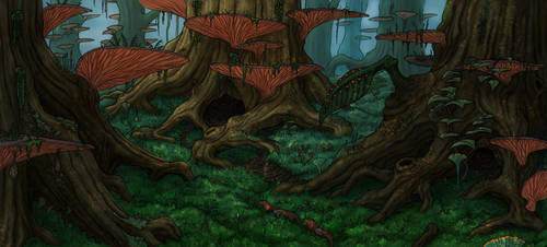 Old grove by Ramul
