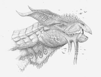 Elder dragon by Ramul