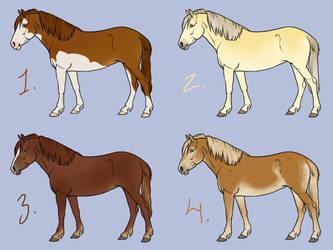 Finnhorse Day Adopts 2/4 by Ohdotar