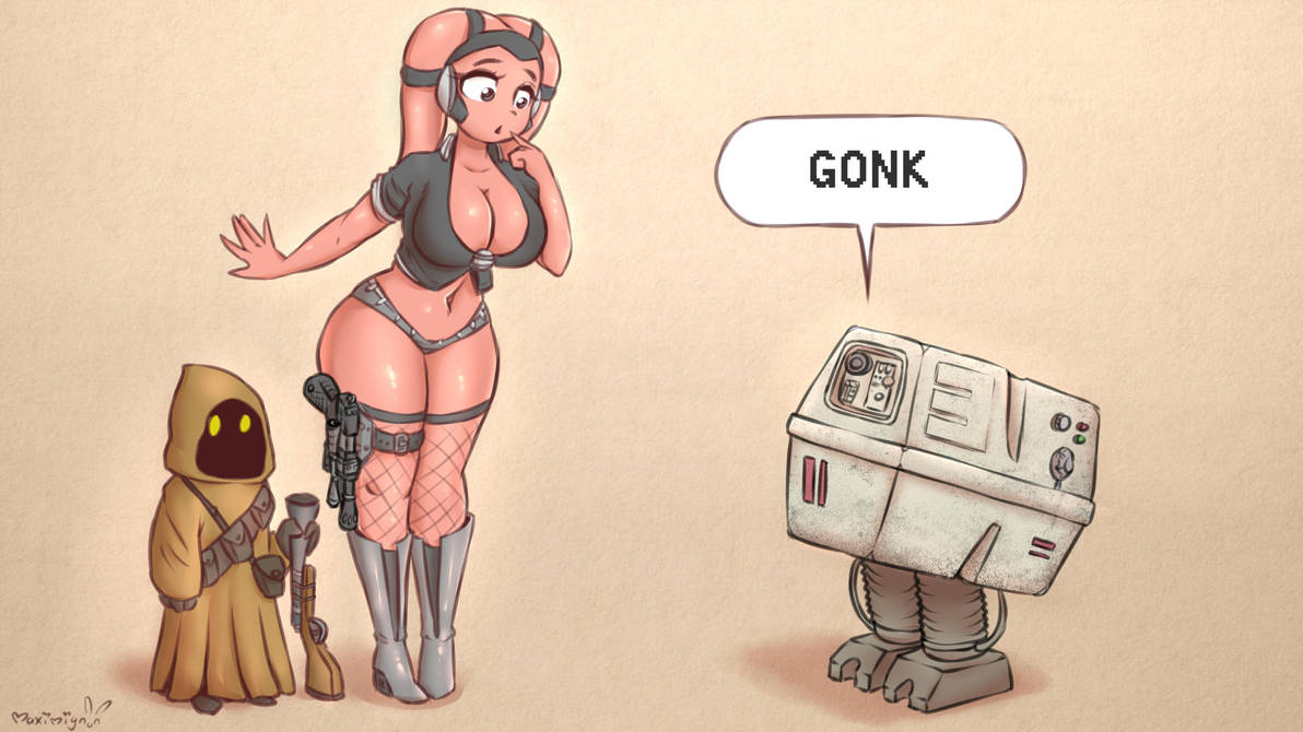 Gonk by Maximignon
