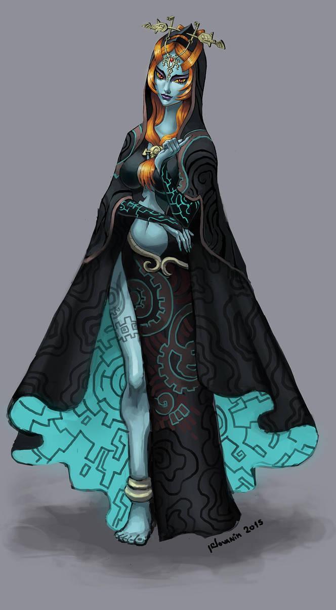 Twilight Princess Midna by Novanim