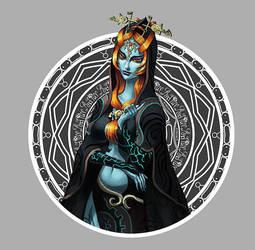 Midna Sticker by Novanim
