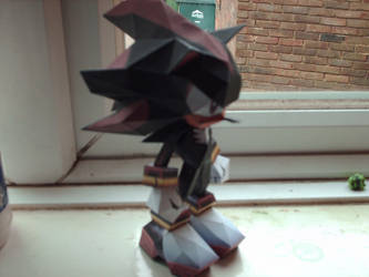 Shadow papercraft by nin-mario64