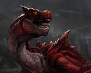 Monster Hunter - Molten Tigrex by nin-mario64