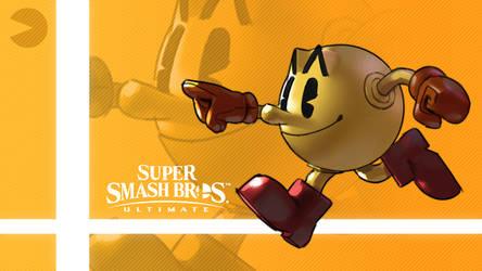 Super Smash Bros. Ultimate - Pac-Man by nin-mario64