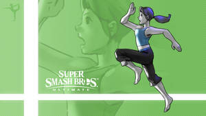 Super Smash Bros. Ultimate - Wii Fit Trainer by nin-mario64