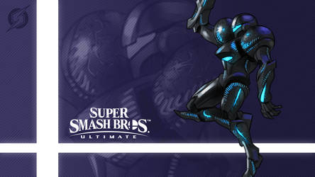 Super Smash Bros. Ultimate - Dark Samus by nin-mario64