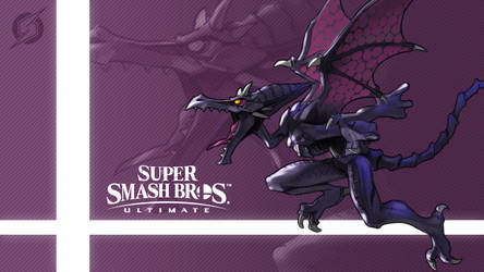Super Smash Bros. Ultimate - Ridley by nin-mario64